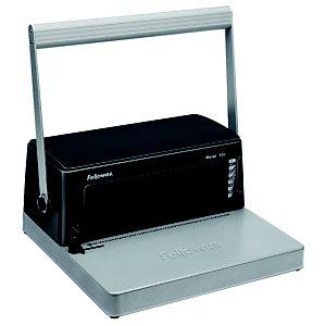 Fellowes Metal 100 Encuadernadora Manual de espiral metálica, 450 hojas (80 g/m²) con espiral de 50 mm, A4