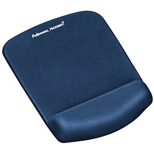 Fellowes Mousepad con poggiapolsi Plus Touch, Blu