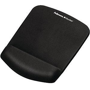 Fellowes Mousepad con poggiapolsi Plus Touch, Nero