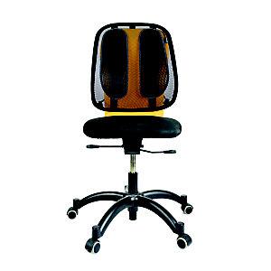 Fellowes Office Suites™ Soporte de malla lumbar, negro