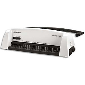 FELLOWES Perforelieur manuel Starlet 2+, perfore 12f, relie 120f 5227901
