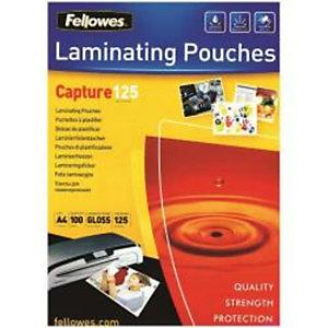Fellowes, Plastificatrici, Cf25capture125 pouches lucide a3, 5396501