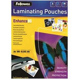 Fellowes, Plastificatrici, Cf25enhance80 pouches lucide a4, 5396205