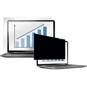 Fellowes PrivaScreen™ Filtro de privacidad 12.5'' para monitores y portátiles de formato panorámico, ratio 16:9