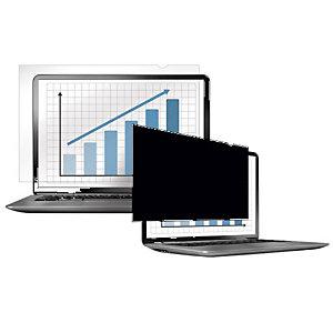 Fellowes PrivaScreen™ Filtro de privacidad 13.3'' para monitores y portátiles de formato panorámico, ratio 16:10