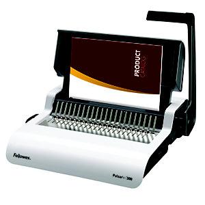 Fellowes Rilegatrice manuale a dorsi plastici Pulsar+ 300, 300 fogli, A4