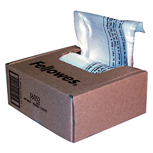 Fellowes Sachet de 100 sacs de 38 litres pour destructeurs  - modèles 79Ci/MS-450Cs/MS-460Cs