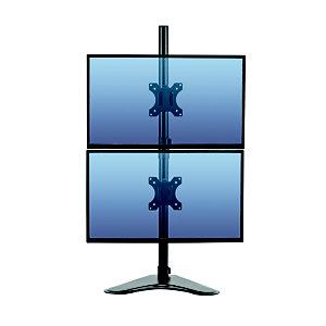 Fellowes Serie profesional Soporte doble para monitores, vertical e independiente, hasta 30''