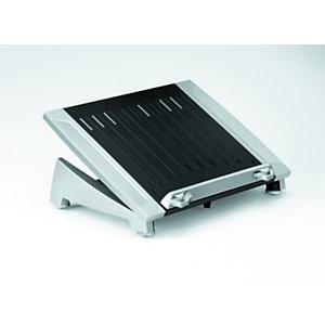 Fellowes Support Office Suites™ Laptop Riser Plus, hauteur et angle réglables, 165,10 x 384,30 x 289,05 mm, Noir/Gris