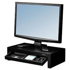Fellowes Supporto per monitor Designer Suites™, Plastica antiurto, Nero