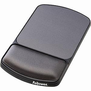 Fellowes Tapis de souris ergonomique  avec repose poignet intégré - Hauteur ajustable - Gris