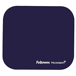 Fellowes Tappetino mouse con Microban, Blu