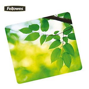 Fellowes Tappetino mouse ecologico, Fantasia Foglie