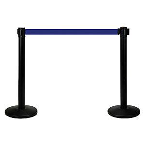 FESA Poste separador con cinta extensible azul