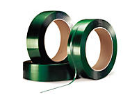 Feuillard polyester 100% recyclé RAJASTRAP qualité industrielle