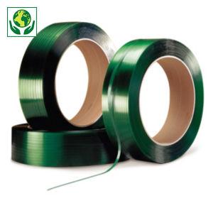 Feuillard polyester recyclé qualité industrielle RAJA