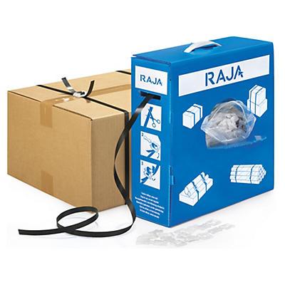 Feuillard polypropylène en boîte distributrice RAJA##Set PP-Umreifungsband in der Spenderbox
