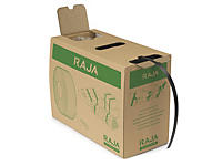 Feuillard recyclé polypropylène en boîte distributrice RAJASTRAP