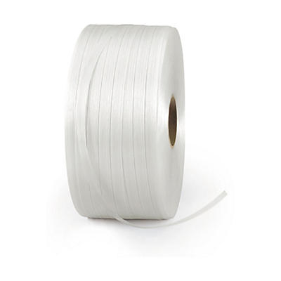 Feuillard textile pour cerclage, fil à fil renforcé Rajastrap##Textielband voor omsnoering, versterkte kwaliteit