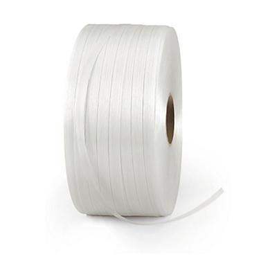 Feuillard textile pour cerclage, fil à fil renforcé##Textielband voor omsnoering, versterkte kwaliteit
