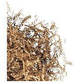 Fibre de calage brune