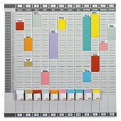 Fiche T couleur pour planning