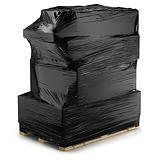 Film étirable cast machine grande étirabilité cast noir opaque pour banderoleuses à préétirage motorisé RAJA