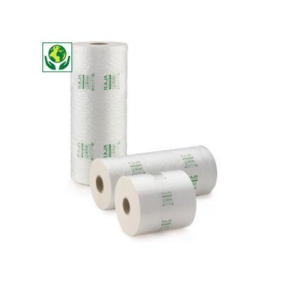 Film in polietilene 50% riciclato per sistema di riempimento ad aria RAJA AIR