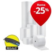 Film plástico de burbujas Ø 10mm en rollo RAJA®