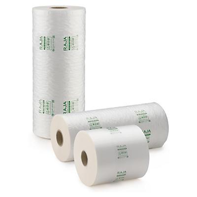 Film polyéthylène 50% recyclé pour systèmes de calage air RAJA