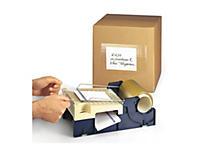 Film de protection transparent pour étiquettes et documents d'expédition