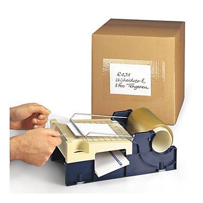 Film de protection transparent pour étiquettes et documents d'expédition##Beschermfolie voor etiketten