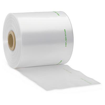 Film tubolare trasparente in plastica riciclata 150 micron