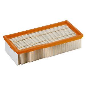 Filtre plat plissé pour aspirateur eau et poussières Kärcher NT65/ 2 Ap 65 L