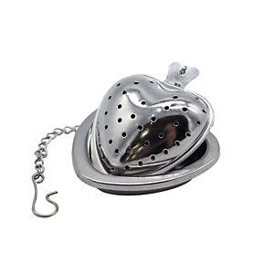Filtro per tè e tisane in acciaio inox, Forma Cuore
