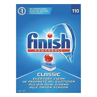 Finish Dishwasher All-in-One Tablets – Pack of 110