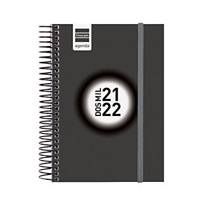 FINOCAM Espir Label Agenda escolar universal día-página curso 2021-22 tamaño 8º català