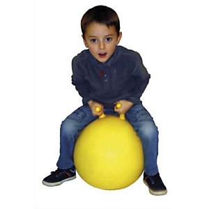FIRST LOISIR Ballon sauteur diamètre 45 cm avec 2 poignées séparées, regonflable