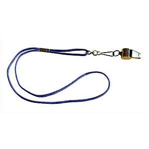 FIRST LOISIR Sifflet d'arbitre métal + cordon