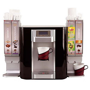 FISAPAC Distributeur de boissons chaudes et froides Smart Fisapac sur réseau