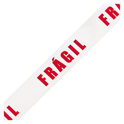 Fita adesiva de polipropileno pré-impressa FRÁGIL