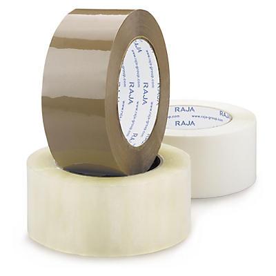 Fita adesiva de polipropileno silenciosa qualidade standard 28 mícrones RAJA