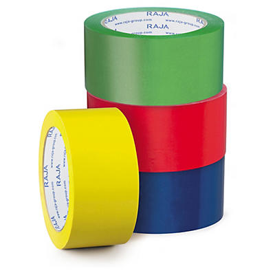 Fita adesiva de PVC cor 50 mm RAJA