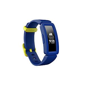 Fitbit Ace 2, Pulsera de actividad, Azul, Azul, Silicona, Talla única, 50 m 811138033415
