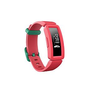 Fitbit Ace 2, Pulsera de actividad, Rectángulo, Verde, Rojo, Silicona, Rojo, Silicona FB414BKPK