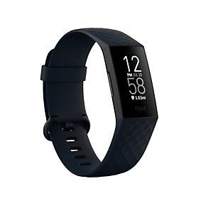 Fitbit Charge 4, Pulsera de actividad, OLED, GPS (satélite), Comunicación de Campo Cercano (NFC) FB417BKNV