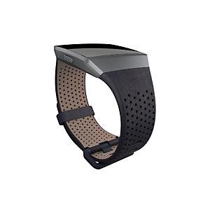 Fitbit FB-164LBNVL, Fitbit, Negro, Aluminio, Cuero, S, Ionic, 140 - 170 mm FB164LBNVL