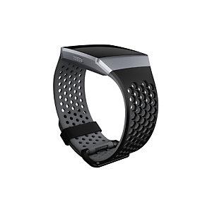 Fitbit FB-164SBBKS, Fitbit, Negro, Aluminio, Elastómero, S, Ionic, 140 - 170 mm FB164SBBKS
