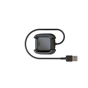 Fitbit FB166RCC, Cable de carga, Negro, Fitbit, Versa