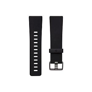 Fitbit FB171ABBKL, Fitbit, Negro, Aluminio, Elastómero, L, Versa 2, 180 - 220 mm